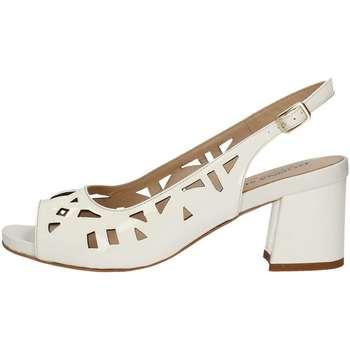 Schuhe Damen Sandalen / Sandaletten Donna Soft 7425 Sandale Frau Weiss Weiss