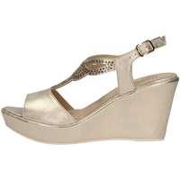 Schuhe Damen Sandalen / Sandaletten Donna Soft 7388 PLATINUM