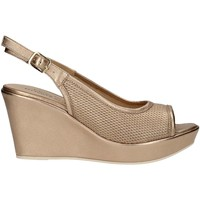 Schuhe Damen Sandalen / Sandaletten Donna Soft 7393 PLATINUM
