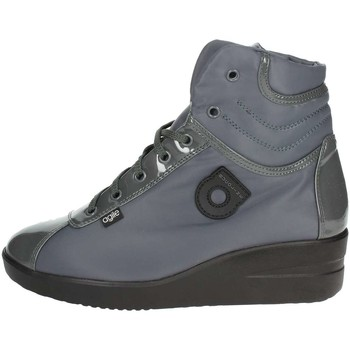 Schuhe Damen Sneaker High Agile By Ruco Line 200-54 Anthrazitgrau