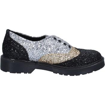 Schuhe Damen Derby-Schuhe 2 Stars elegante gold glitter silber BX379 gold