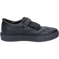 Schuhe Damen Derby-Schuhe 2 Stars sneakers schwarz leder glitter BX380 schwarz