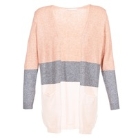 Kleidung Damen Strickjacken Only ONLQUEEN Rose / Grau