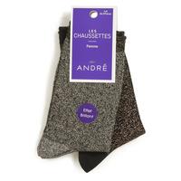 Accessoires Damen Socken & Strümpfe André LEOPARD Multicouleurs