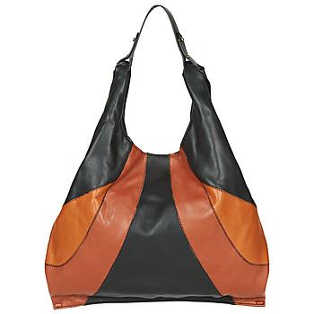 Taschen Damen Sporttaschen André PAULINE Schwarz / Braun