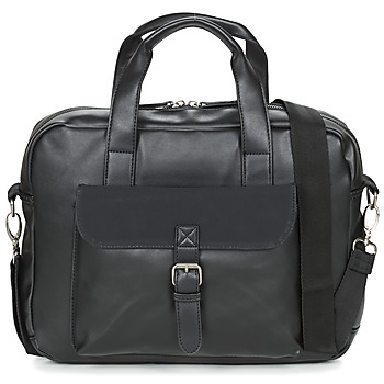 Taschen Herren Laptop-Tasche André EMILE Schwarz