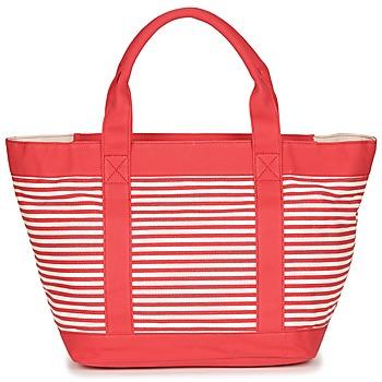 Taschen Damen Shopper / Einkaufstasche André JENNY Rot / Weiss