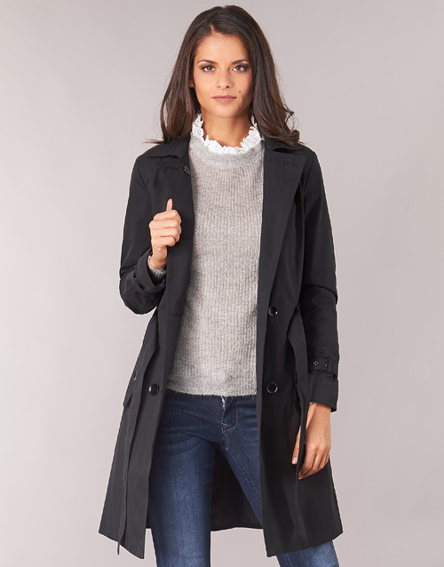 JIVELU  Betty London  trenchcoats  damen  schwarz
