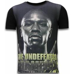 Kleidung Herren T-Shirts Local Fanatic The Undefeated Champion Digital Schwarz
