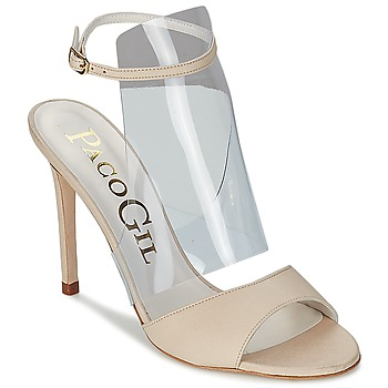 Schuhe Damen Sandalen / Sandaletten Paco Gil LUISE Naturfarben