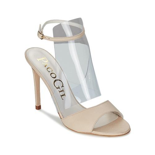 Paco Gil LUISE Naturfarben  Schuhe Sandalen / Sandaletten Damen 116
