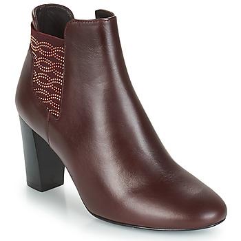 Schuhe Damen Low Boots Bocage ELYSEE Bordeaux