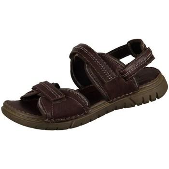 Schuhe Herren Sandalen / Sandaletten Josef Seibel Jim Braun
