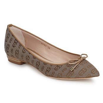 Schuhe Damen Ballerinas Alberto Gozzi TINA TESSY Braun
