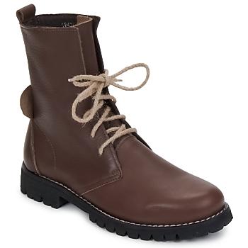 Schuhe Damen Boots Swamp BIKE Braun