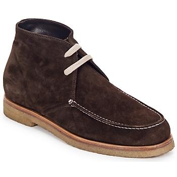 Schuhe Damen Boots Swamp POLACCHINO SU Braun