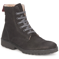 Schuhe Damen Boots Swamp STIVALETTO LANA Schwarz