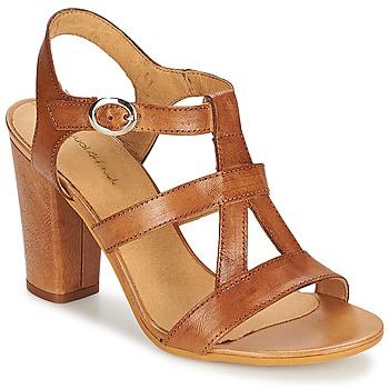 Schuhe Damen Sandalen / Sandaletten Casual Attitude OLILA Braun