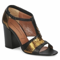 Schuhe Damen Sandalen / Sandaletten Sigerson Morrison STRUZZO Schwarz / Bronze