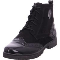 Schuhe Damen Klassische Stiefel Softline Woms Boots BLACK