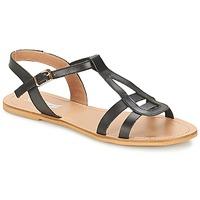 Schuhe Damen Sandalen / Sandaletten So Size DURAN Schwarz