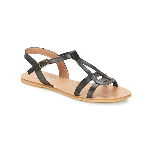 So Size DURAN Schwarz  Schuhe Sandalen / Sandaletten Damen 42
