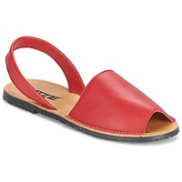 Schuhe Damen Sandalen / Sandaletten So Size LOJA Rot
