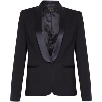 Kleidung Damen Jacken / Blazers Anastasia -Black Damen Tuxedo Jacke Black