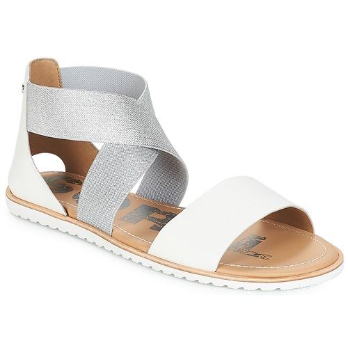 Sorel ELLA™ SANDAL Weiss  Schuhe Sandalen / Sandaletten Damen 71,96