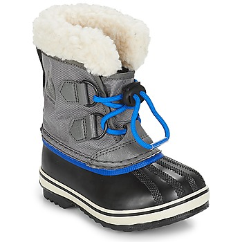 Schuhe Kinder Schneestiefel Sorel CHILDRENS YOOT PAC™ NYLON Lackviolett / orange / Grau