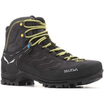 Schuhe Herren Wanderschuhe Salewa MS Rapace GTX 61332 0960 czarny, żółty