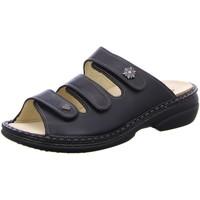 Schuhe Sandalen / Sandaletten Finn Comfort Pantoletten MENORCA-S 82564 014099 schwarz