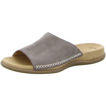 Schuhe Damen Sandalen / Sandaletten Gabor Pantoletten 03.705.13 grau