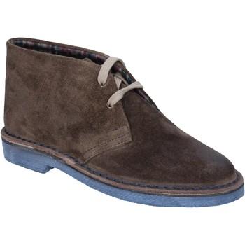 Scarpe Italiane By Coraf Ankle Boots ITALIANE stiefeletten braun wildleder BX656