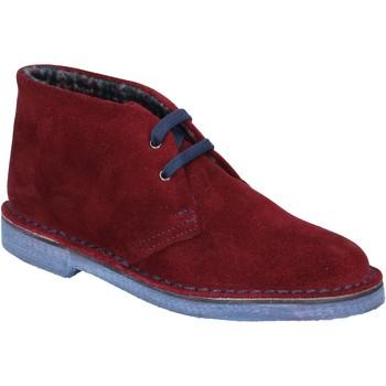 Scarpe Italiane By Coraf Ankle Boots ITALIANE stiefeletten burgund wildleder BX657