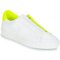 Schuhe Damen Sneaker Low KLOM KISS Weiss / Gelb
