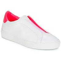 Schuhe Damen Sneaker Low KLOM KISS Weiss / Rose