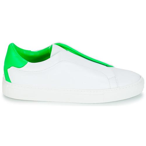 KLOM KISS Weiss / Grün Grün Grün  Schuhe Sneaker Niedrig Damen 169 f25e04