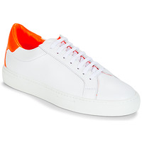 Schuhe Damen Sneaker Low KLOM KEEP Weiss / Orange