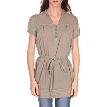 Kleidung Damen Tuniken Vision De Reve Tunique Claire 7090 Taupe Braun