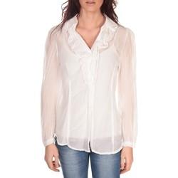 Kleidung Damen Tops / Blusen Vision De Reve Tunique Lorine 7068 Blanc Weiss