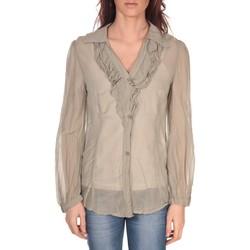 Kleidung Damen Tops / Blusen Vision De Reve Tunique Lorine 7068 Gris Braun