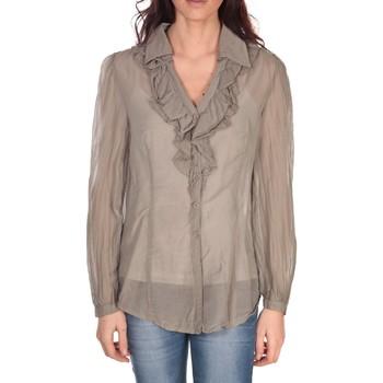 Kleidung Damen Tops / Blusen Vision De Reve Tunique Lorine 7068 Taupe Braun