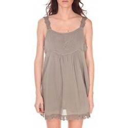 Kleidung Damen Tuniken Vision De Reve Robe Toupie 7062 Marron Braun