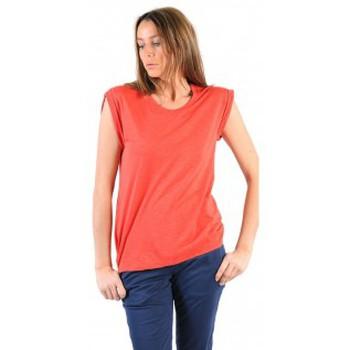 Kleidung Damen T-Shirts American Vintage TEE-SHIRT JAC60E11 VERMILLON Rot