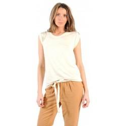 Kleidung Damen T-Shirts American Vintage TOP JAC60 NATUREL Beige