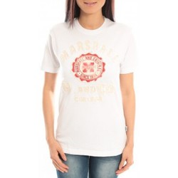 Kleidung Damen T-Shirts Sweet Company T-shirt Marshall Original M and Co 2346 Blanc Weiss