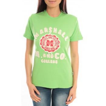 Kleidung Damen T-Shirts Sweet Company T-shirt Marshall Original M and Co 2346 Vert Grün