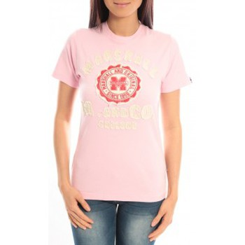 Kleidung Damen T-Shirts Sweet Company T-shirt Marshall Original M and Co 2346 Rose Rose