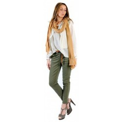 Kleidung Damen Tops / Blusen American Vintage BLOUSE MIL144E11 NATUREL Beige